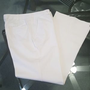 Merona. White slacks. Unlined.  Size 8